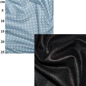 Black Canvas Big Bag Fabric Bundle (2m)