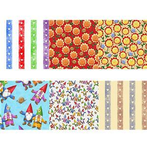 Home Sweet Gnome Garden Party Fabric Bundle (3m)