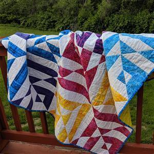Colour Flip Quilt Pattern