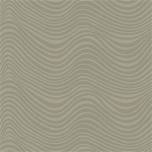 Libs Elliot Stealth Waves on Beige Fabric 0.5m