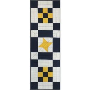 Village Fabrics Beginners Modern Sew-A-Long Table Runner Kit