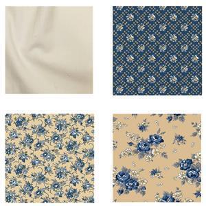 Riley Blake Cream Bed Runner Fabric Bundle (4m)