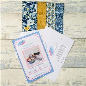 Living in Loveliness Fabulously Fast Fat Quarter Fun - Issue 4 - Sew Outdoors - Liberty Blue