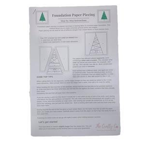 The Crafty Co. Christmas FPP, Bag and Cushion Instructions