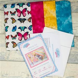 Living in Loveliness Fabulously Fast Fat Quarter Fun Issue 6 - Love to be Organised - Butterfly