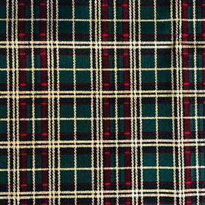 Tartan Fabric Green 0.5m