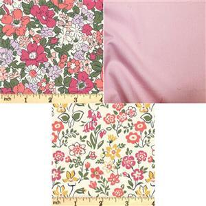 Liberty Cottage Garden Red Pods Fabric Bundle (1.5m)
