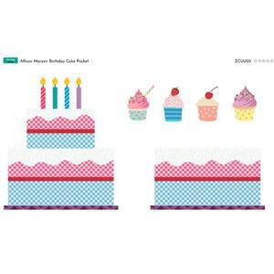 Allison Maryon's Birthday Cake Pocket Panel