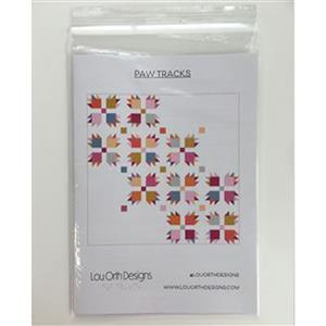 Paw Tracks by Lou Orth Pattern