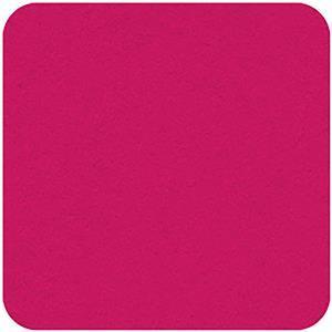 """Felt Square in Cerise 22.8x22.8cm (9x9"""")"""