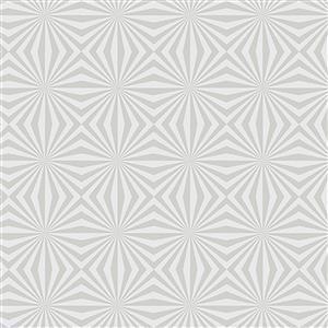 Libs Elliot Stealth Illusions on White Fabric 0.5m