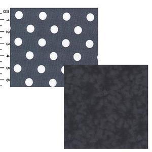 Creative Grids Silver Dots Fabric Bundle (1m)