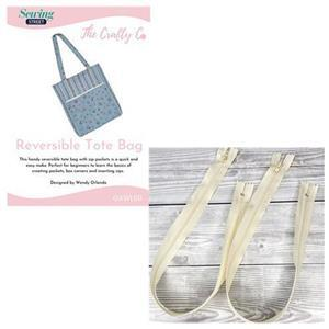 Wendy Orlando Zip Bag Instructions & Zips Bundle