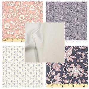 Liberty Pink Floral FQ Pack (5pcs)