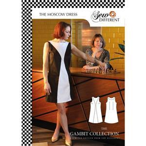Sew Different Moscow Dress Pattern, Sizes 8-26