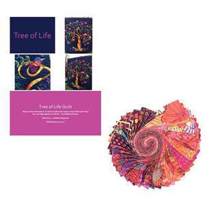 Delphine Brooks' Kaffe Flower Tree of Life Wall Hanging Bundle: Instructions & Design Roll
